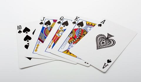 高望みをし過ぎる人はポーカーでも負けてしまいますよね。