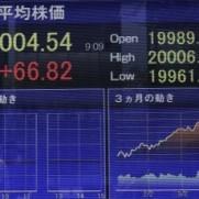 日経平均株価はついに2万円へ。