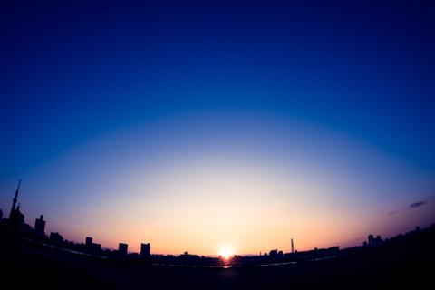 朝を迎えるのがいつかは、人それぞれ違うもの。