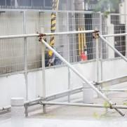 安全第一のためには常に足場作りが大切です。