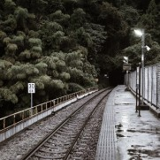 鉄道が廃線になったりすれば暴落はしそうですが。