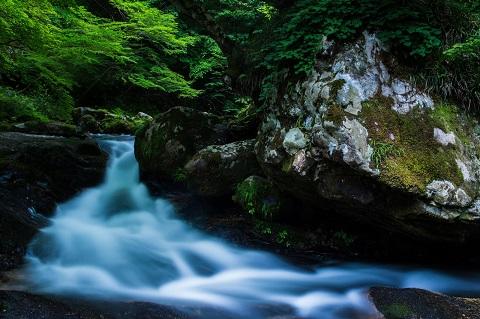 川に流されたらどうなるかを想像して下さい。